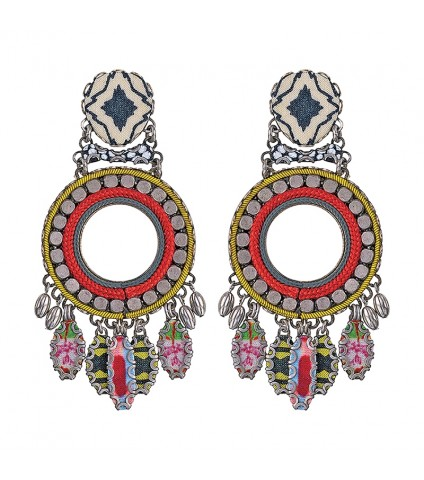 Kaleidoscope Neptune Earrings