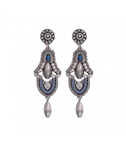Indigo, Oriana Earrings