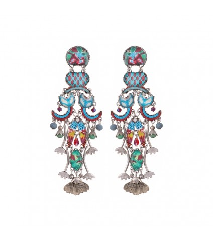 Blue Castle, Grace Earrings