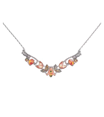 Coral Cave, Sunrise Necklace